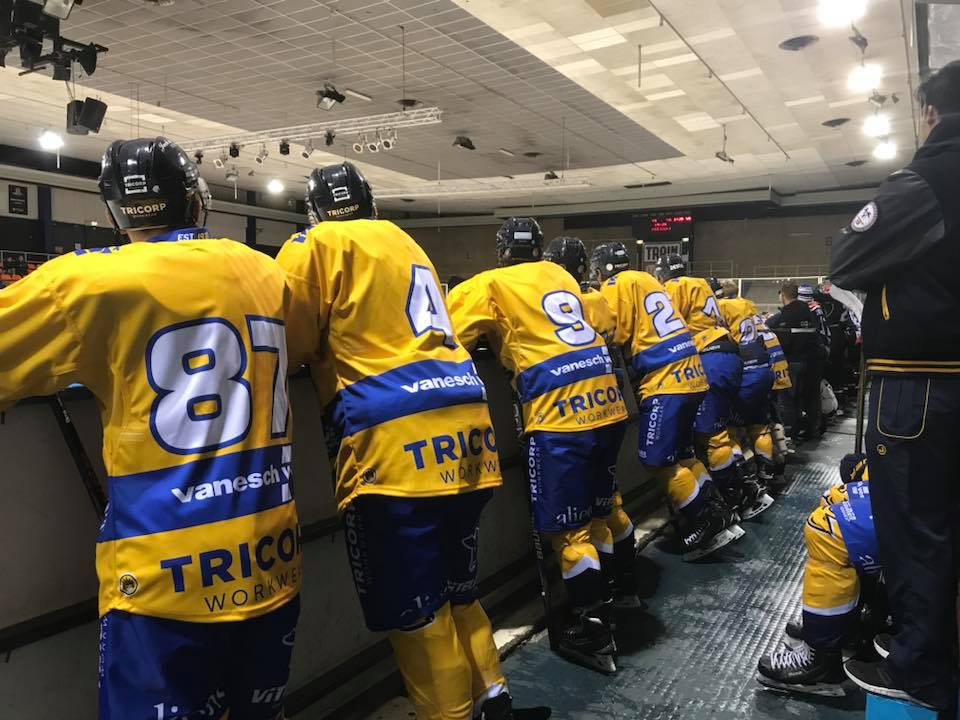 Trappers Toekomst Tigers Face Off