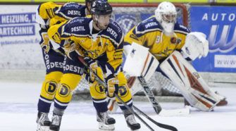 Trappers Saale Bulle Face-Off