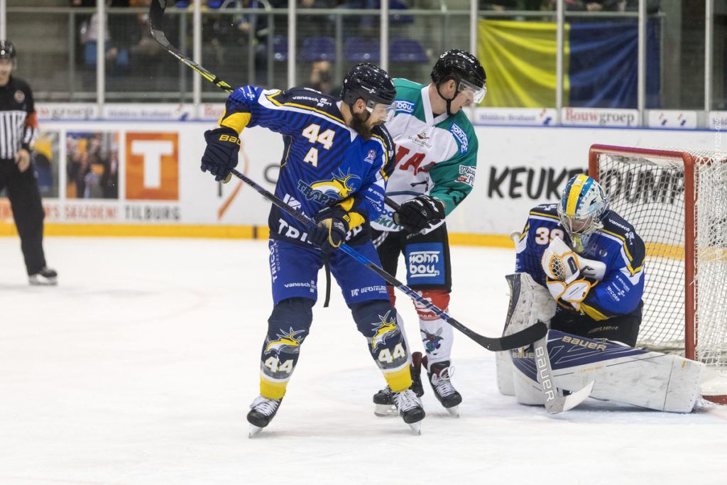 Tilburg Trappers Moskitos Essen Face-Off