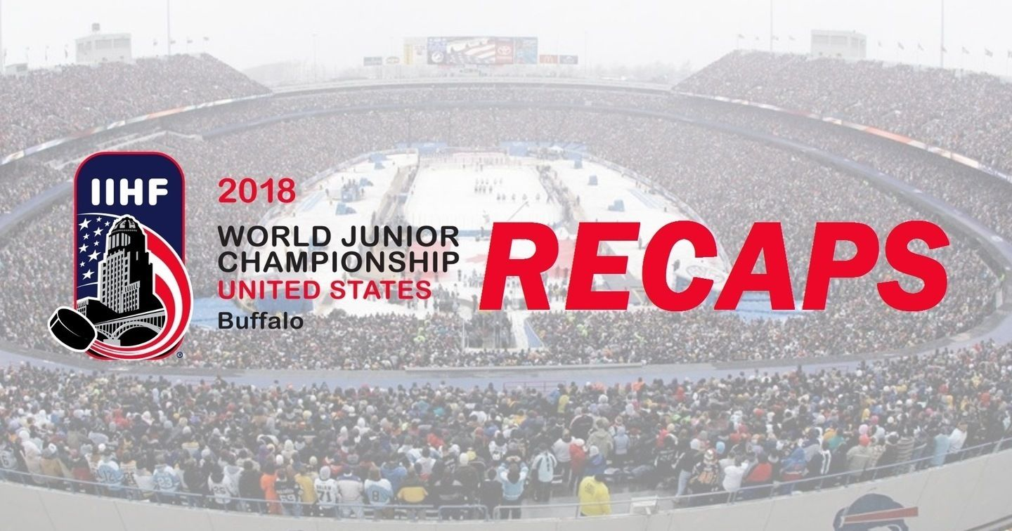 World Juniors Buffalo Recaps Face-Off