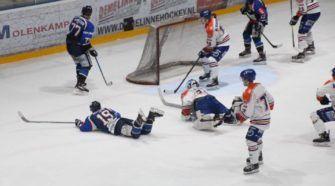 HIJS Hokij Den Haag Eindhoven Kemphanen ijshockey Face-Off
