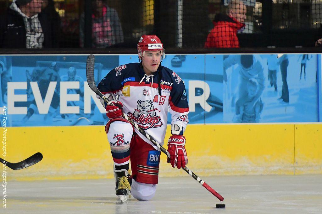 Akim Ramoul Luik Bulldogs Eindhoven Kemphanen ijshockey Face-Off