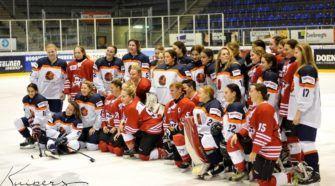 Nederland U18 Oranje Ijshockey Face-Off