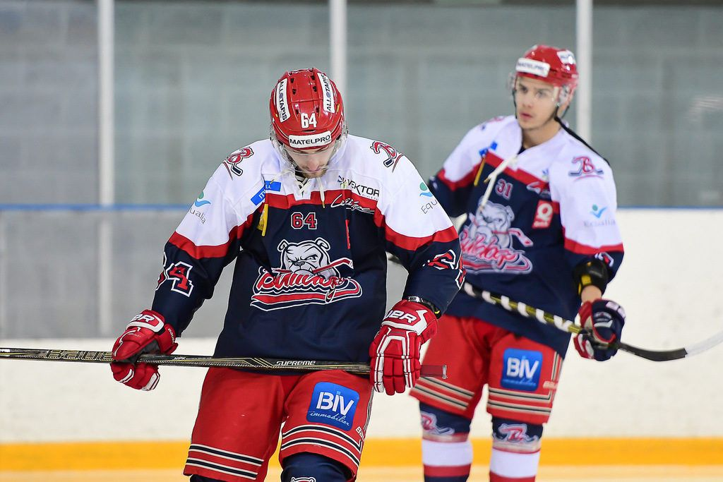Bulldogs de Liege ijshockey Face-Off