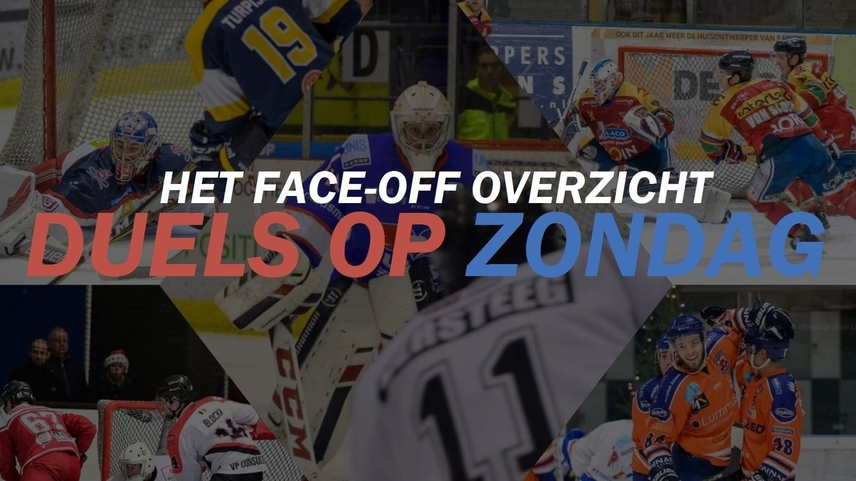 Face-Off IJshockey BeNeLeague Zondag