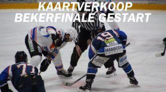 HIJS Hokij Den Haag Heerenveen Bekerfinale Ijshockey Face-Off