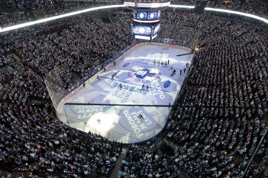 Toronto Maple Leafs IJshockey Face-OFf