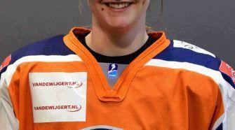 Roxy Fokker Nederland U18 ijshockey Face-Off
