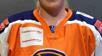 Sophie SMid Nederland UJ8 ijshockey Face-Off