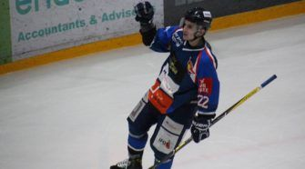 Raymond van der Schuit HIJS Hokij Den Haag Chiefs Leuven Ijshockey Face-Off