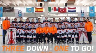 Nederland U18 Dames Ijshockey Face-Off