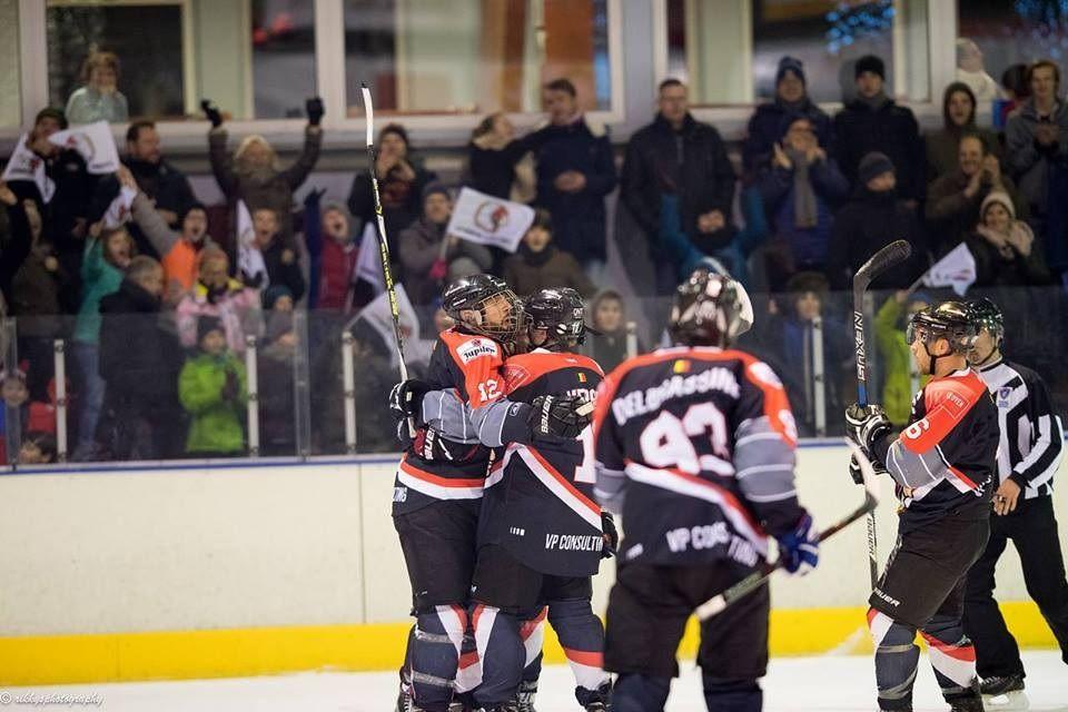 Chiefs Leuven Amsterdam Tigers IJshockey Face-Off