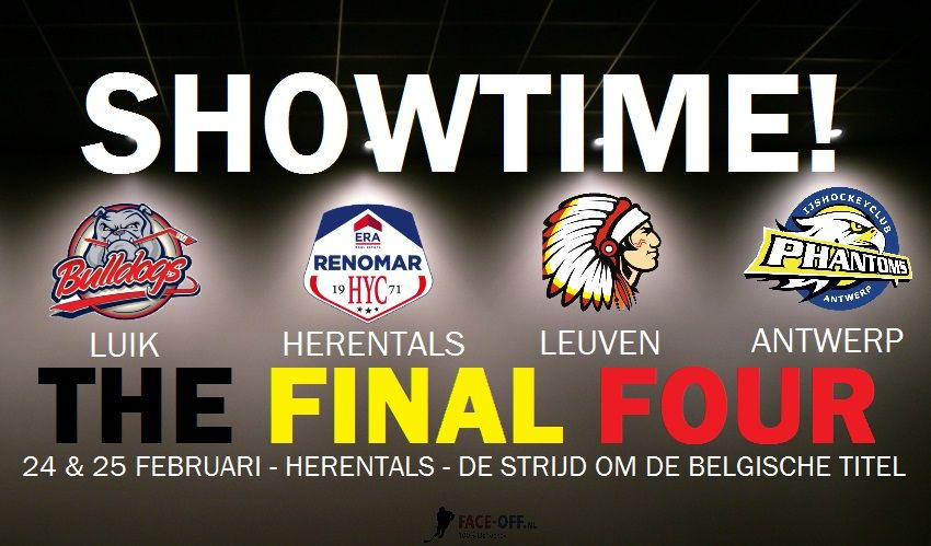 Final Four Belgié ijshockey Face-Off