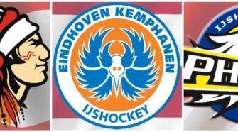 Chiefs Leuven EIndhoven Kemphanen, Antwerp Phantoms ijshockey Face-Off
