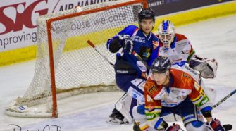 HIJS Hokij Den Haag Laco Eaters Geleen Final Four IJshockey Face-Off