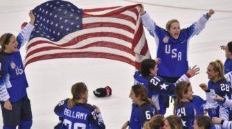 Team USA Olympische Spelen Face-Off IJshockey