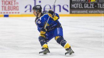 Tilburg Trappers Toekomstteam Antwerp Phantoms ijshockey Face-Off