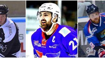 Speler van de maand Face-Off IJshockey Versteeg Demelinne Gibbs Sjodin