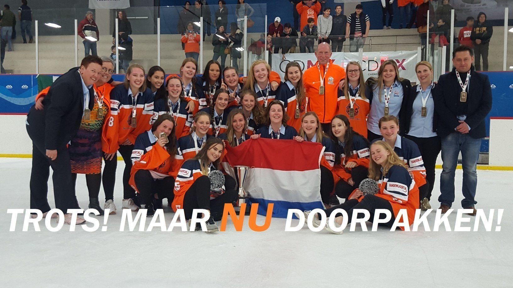 Nederland U18 Ijshockey Face-oFf