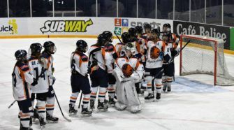 Oranje ijshockey dames Face-Off