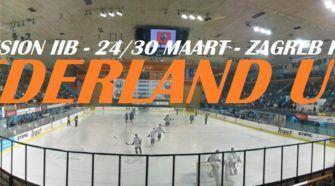 WK U18 Nederland IJshockey Zagreb Kroatië Face-Off