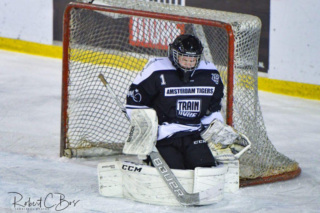 Jaimy Missler, Amsterdam Tigers, Nederland U18 ijshockey Face-Off