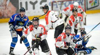 HIJS Hokij Den Haag Chiefs Leuven playoffs BeNe League ijshockey Face-Off
