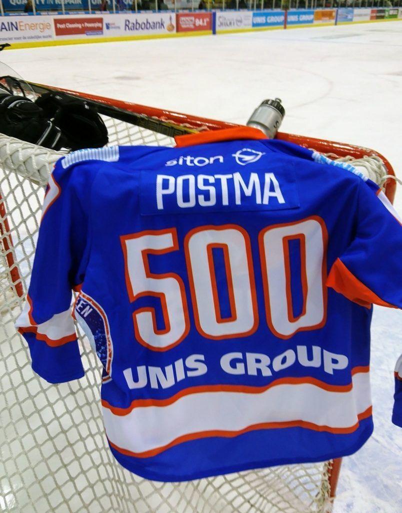 Marco Postma Unis Flyers Heerenveen 500 duels