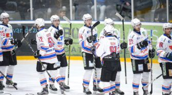 BeNe League IJshockey Face-Off UNIS Flyers Heerenveen