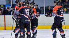 Chiefs Leuven HIJS Hokij Den Haag Face-Off IJshockey
