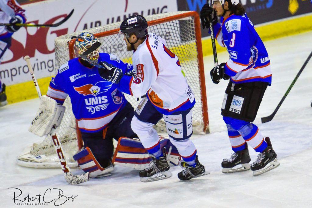 UNIS Flyers Heerenveen HIJS Hokij DEn Haag ijshockey Face-Off Finale BeNe League