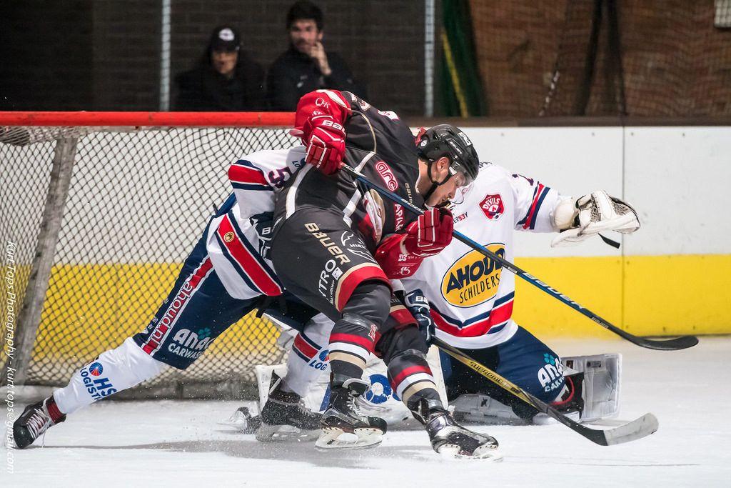 HYC Herentals AHOUD Devils Nijmegen Face-Off IJshockey