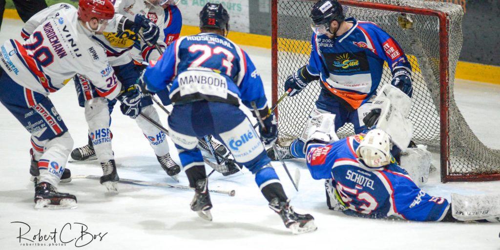 HIJS Hokij Den Haag AHOUD Devils Nijmegen BeNe League IJshockey Face-Off
