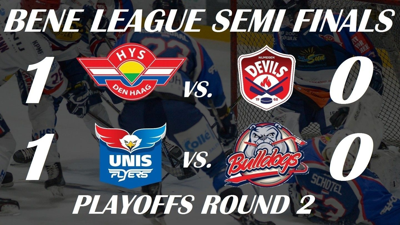 BeNe League ijshockey Face-Off