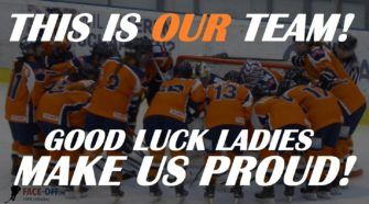 Oranje Dames IJshockey Face-Off WK Maribor