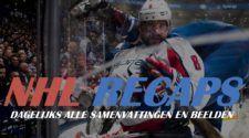 NHL Recaps Banner Face-Off
