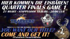 Tilburg Trappers Eisbären Regensburg Oberliga Playoffs IJshockey Face-Off