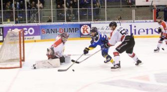 Tilburg Trappers Hannover Scorpions Oberliga playoffs Face-Off ijshockey