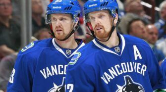 Sedin IJshockey Face-Off