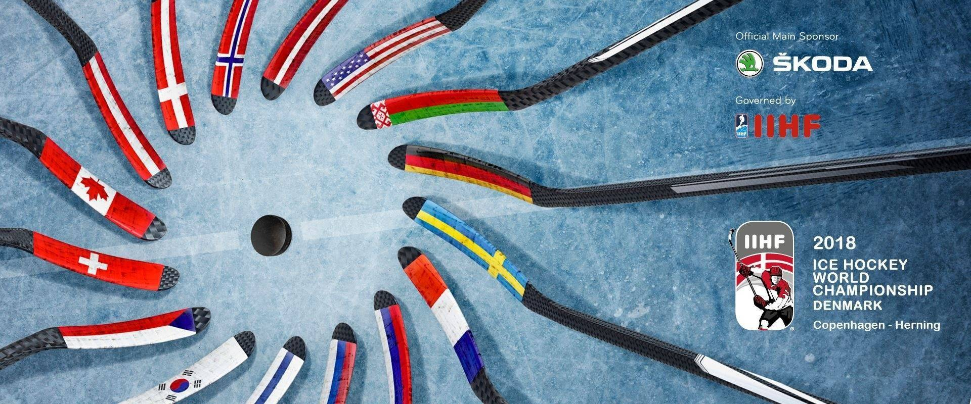 WK IJshockey Denmark