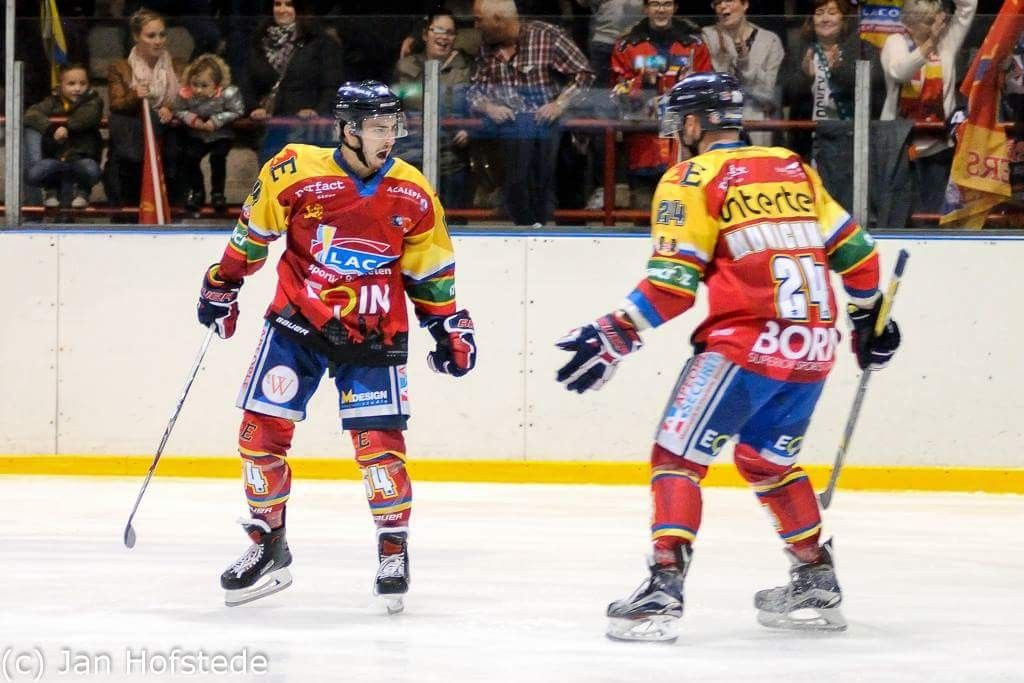 Maxime Pellegrims Sharks Mechelen