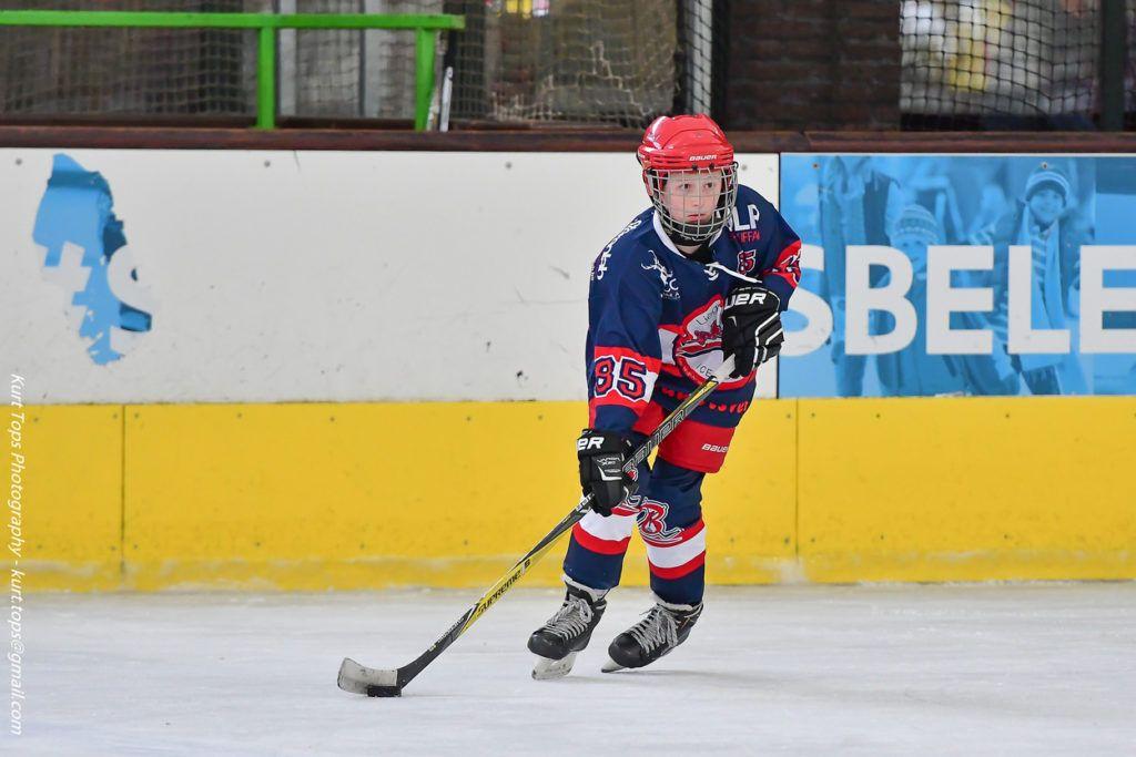 De U14 van Luik Bulldogs