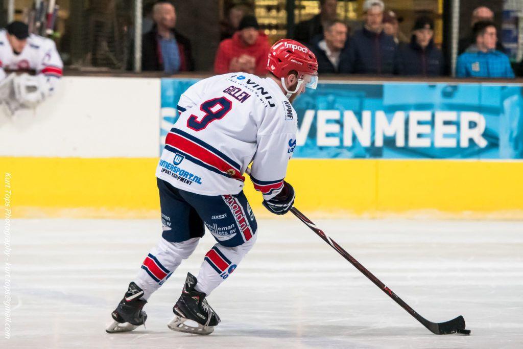 Kay Gielen BeNe League IJshockey Face-Off Luik Bulldogs