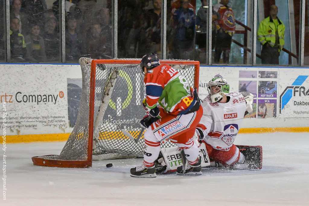 BeNe League IJshockey Face-Off Geleen Herentals