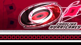 Carolina Hurricanes NHL IJshockey Face-Off