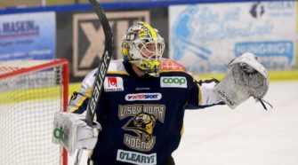 Martijn Oosterwijk IJshockey Face-Off Zweden
