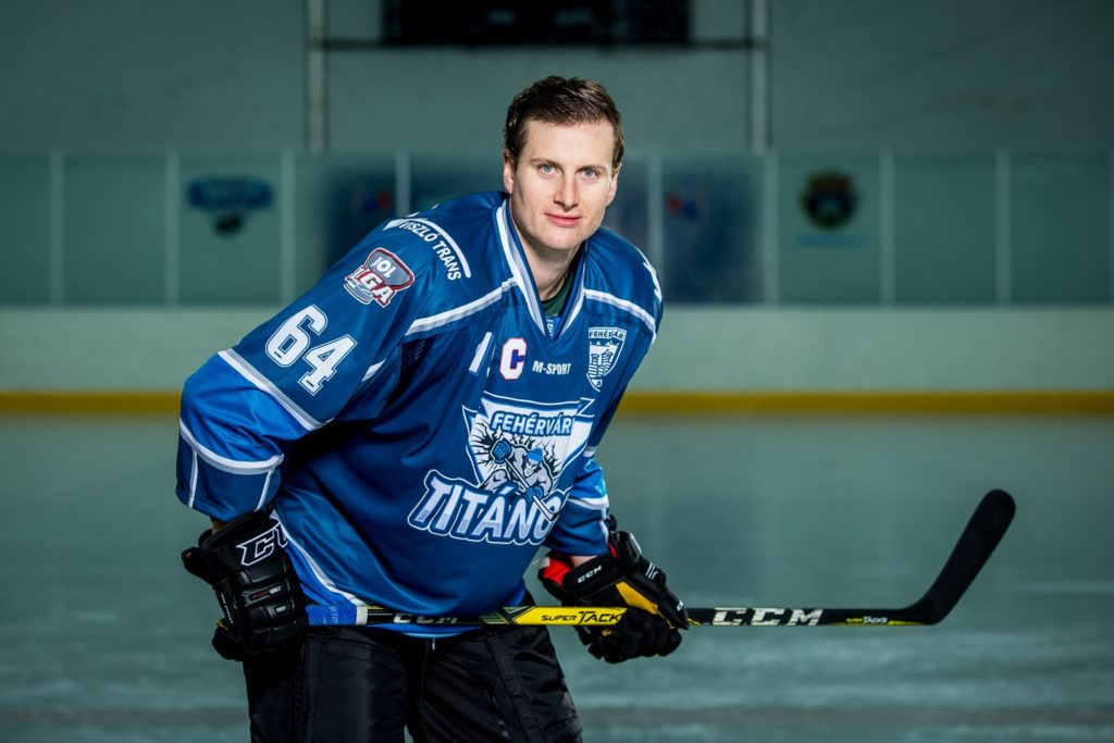 Preston Shupe BeNe League IJshockey Face-Off HYC Herentals