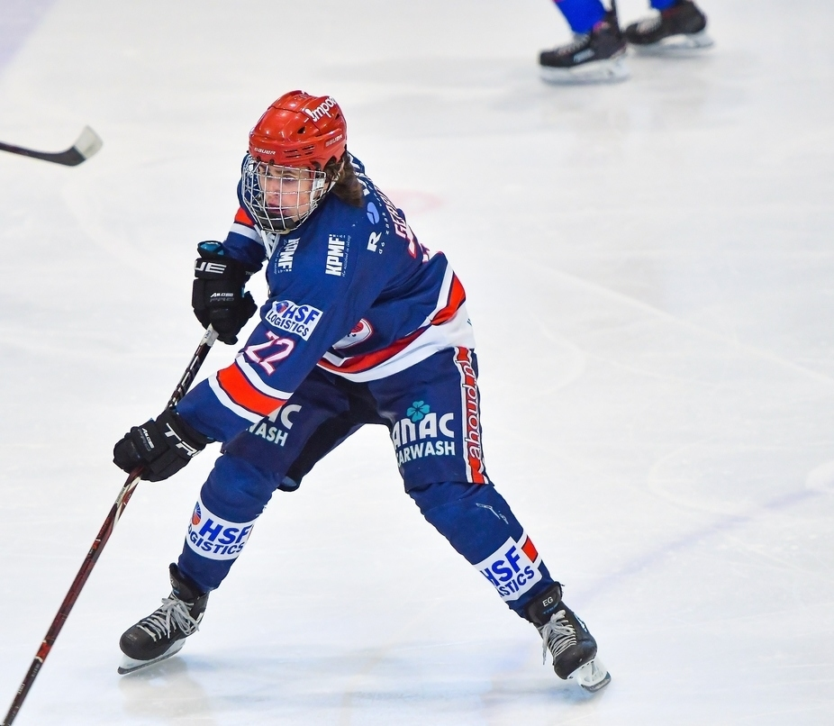 Eef Gerritsen BeNe League IJshockey Face-Off AHOUD Devils Nijmegen