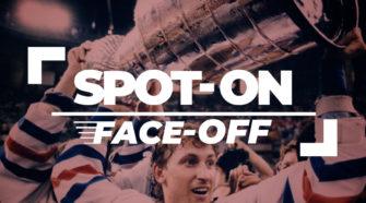 Face-Off IJshockey Spot On