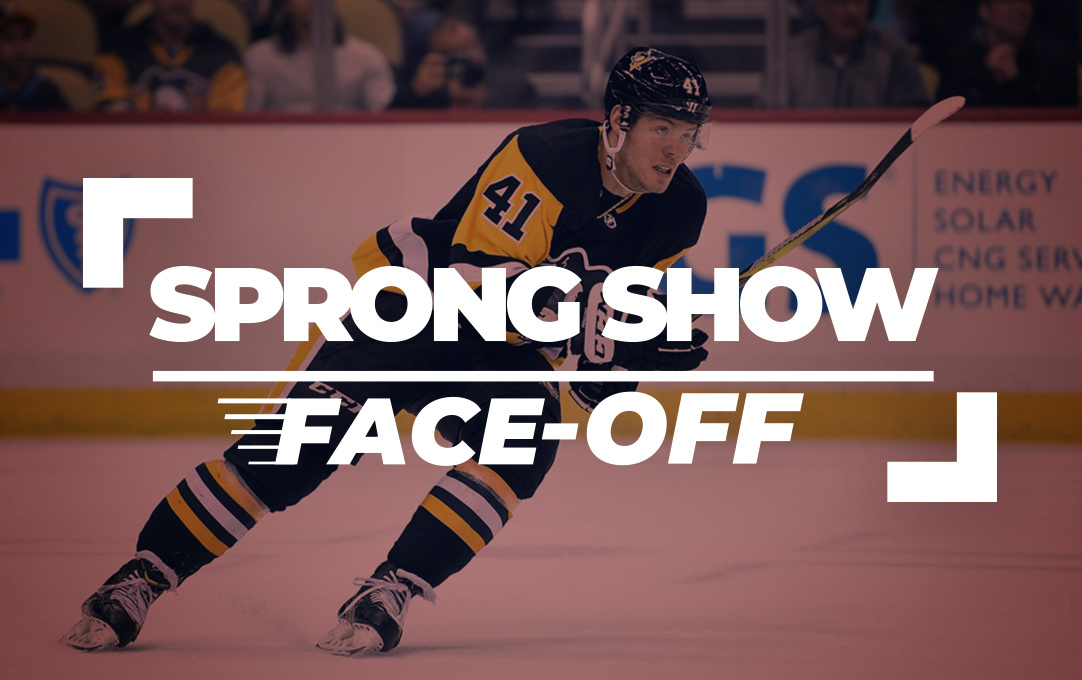 Face-Off IJshockey Daniel Sprong ShowShow